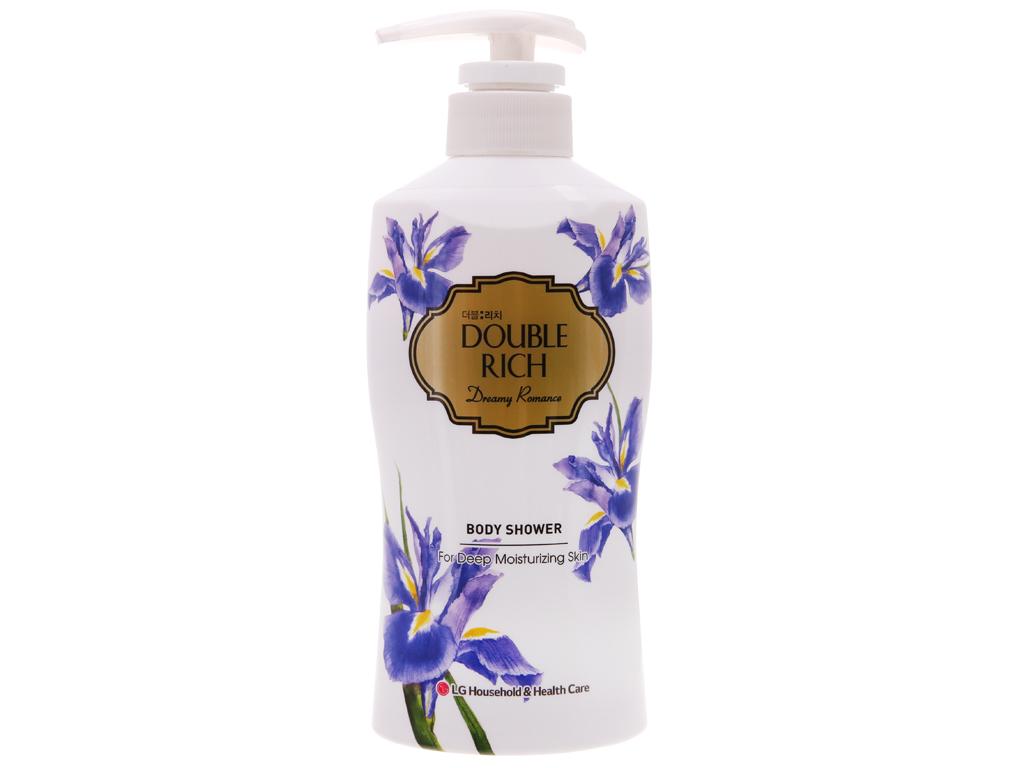 Sữa tắm Double Rich dưỡng ẩm sâu hương hoa iris 350g 2