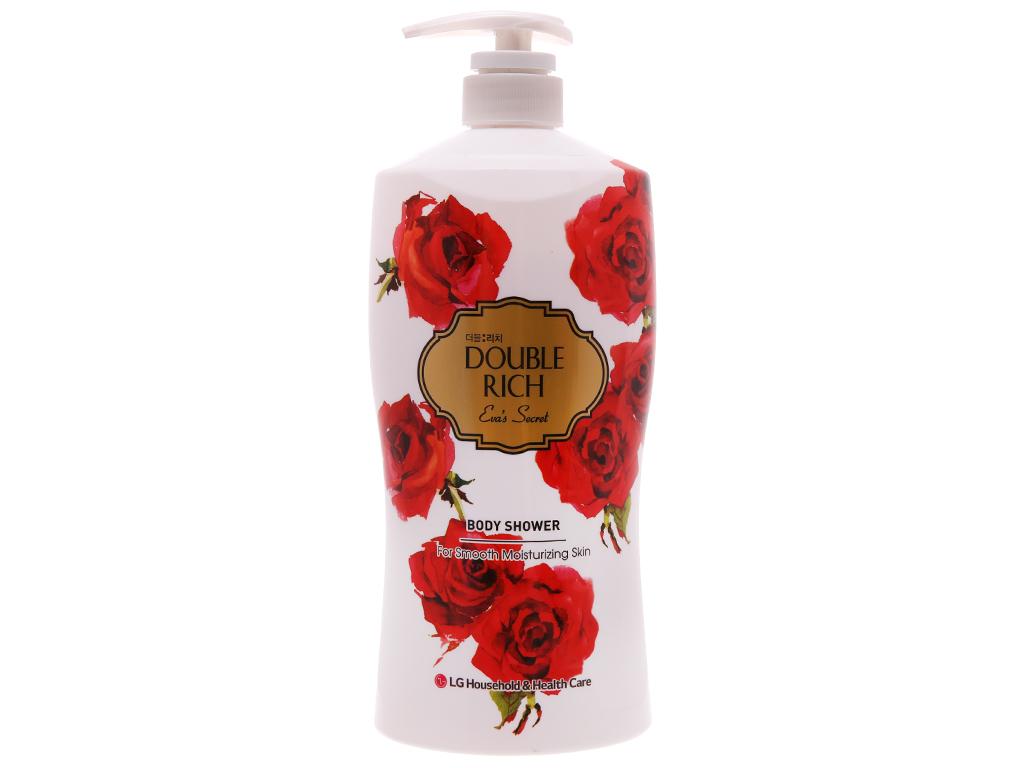 Sữa tắm hoa hồng Double Rich Eva's Secret 800g 2