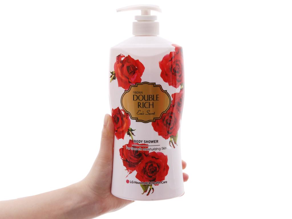 Sữa tắm hoa hồng Double Rich Eva's Secret 800g 4