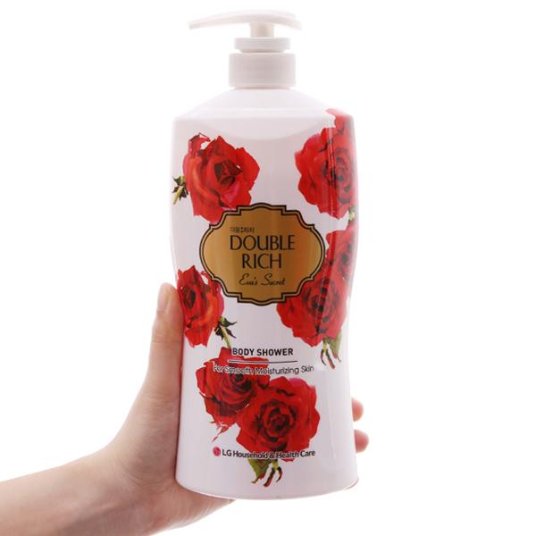 Sữa tắm hoa hồng Double Rich Eva's Secret 800g