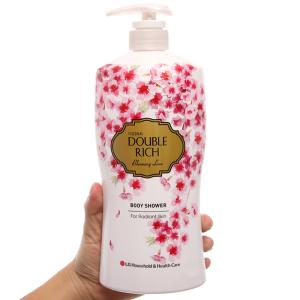 Sữa tắm hoa anh đào Double Rich Blooming Love 800g