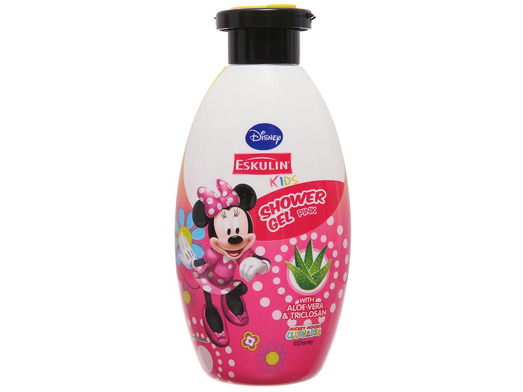 Gel tắm cho bé Eskulin Kids Minnie hồng 250ml 2