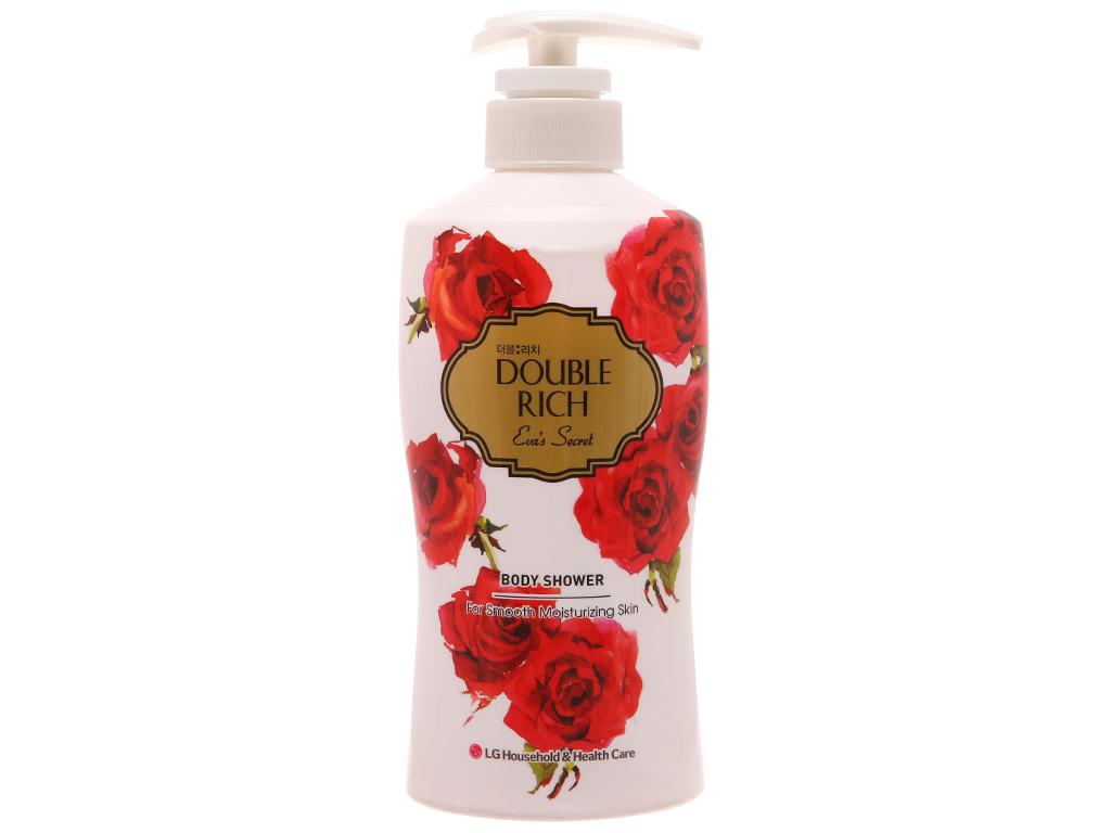 Sữa tắm Double Rich hoa hồng quyến rũ 350g 2
