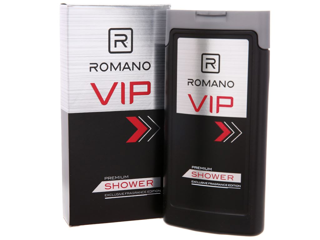 Sữa tắm nước hoa cao cấp Romano Vip 180g 2
