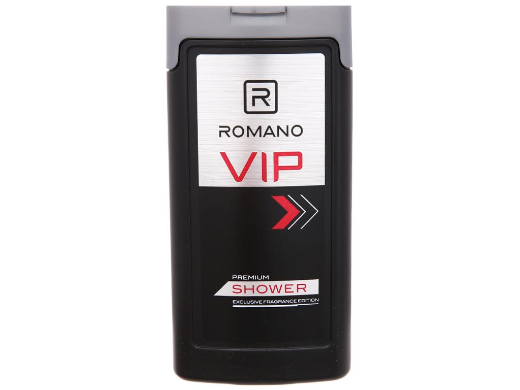 Sữa tắm nước hoa cao cấp Romano Vip 180g 3