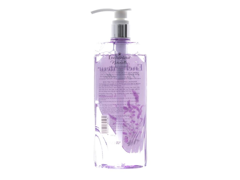 Sữa tắm Enchanteur Lavender 500ml 2