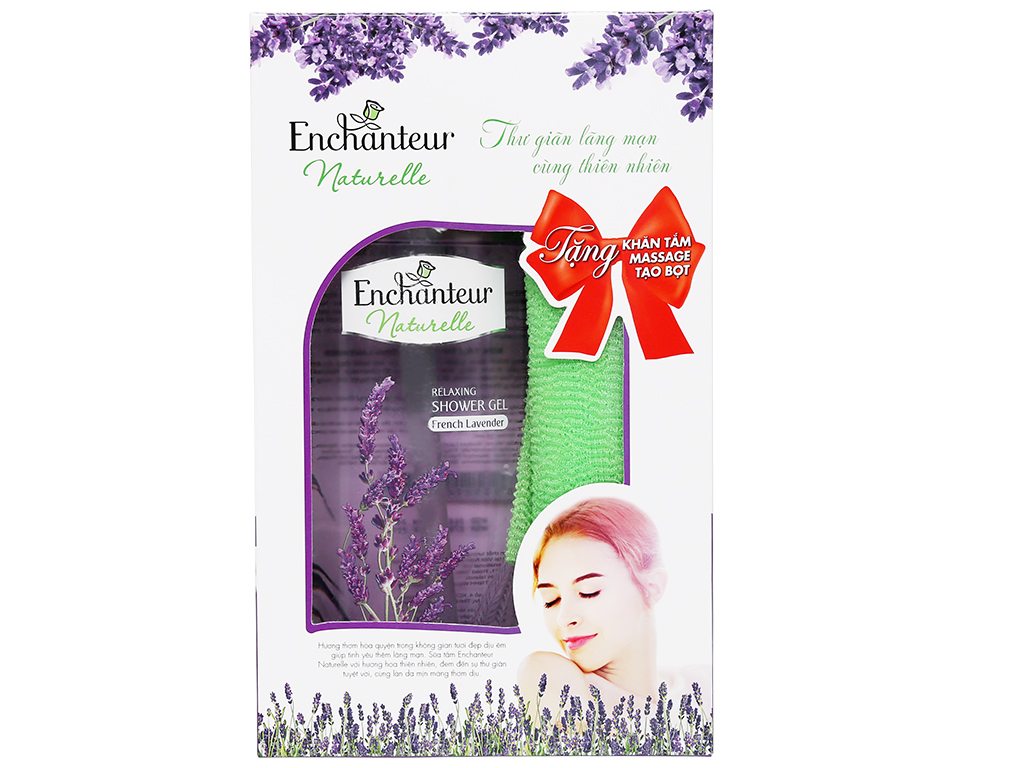 Sữa tắm Enchanteur Naturelle hương Lavender 500ml 3