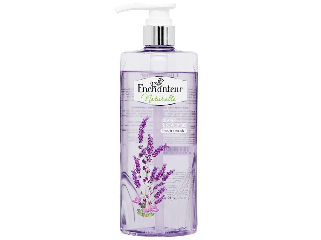 Sữa tắm Enchanteur Naturelle hương Lavender 500ml 4