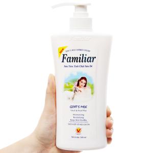 Sữa tắm tinh chất sữa dê Familiar 500ml
