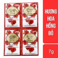 Sữa tắm dưỡng ẩm Double Rich hương Hoa hồng gói 7g (10 gói)