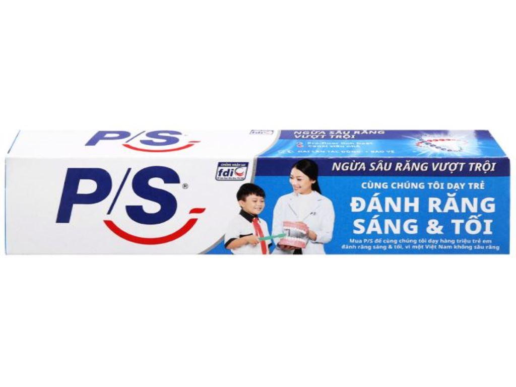 Kem đánh răng P/S ngừa sâu răng vượt trội 240g 7