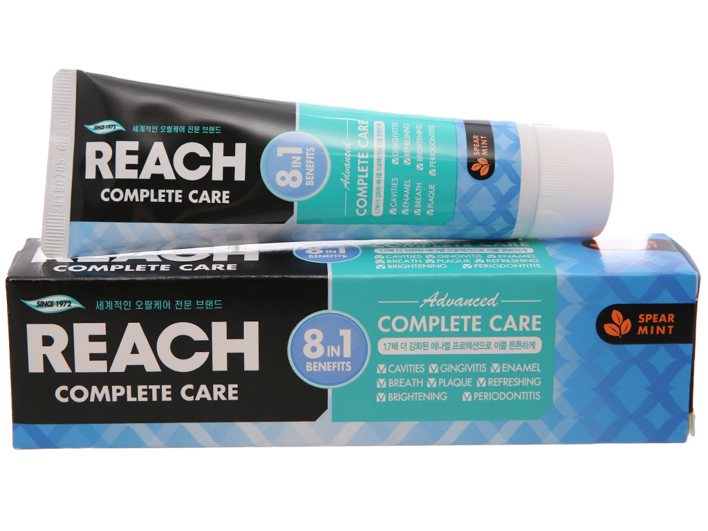 Kem đánh răng REACH bảo vệ tối ưu 8 trong 1 120g 1