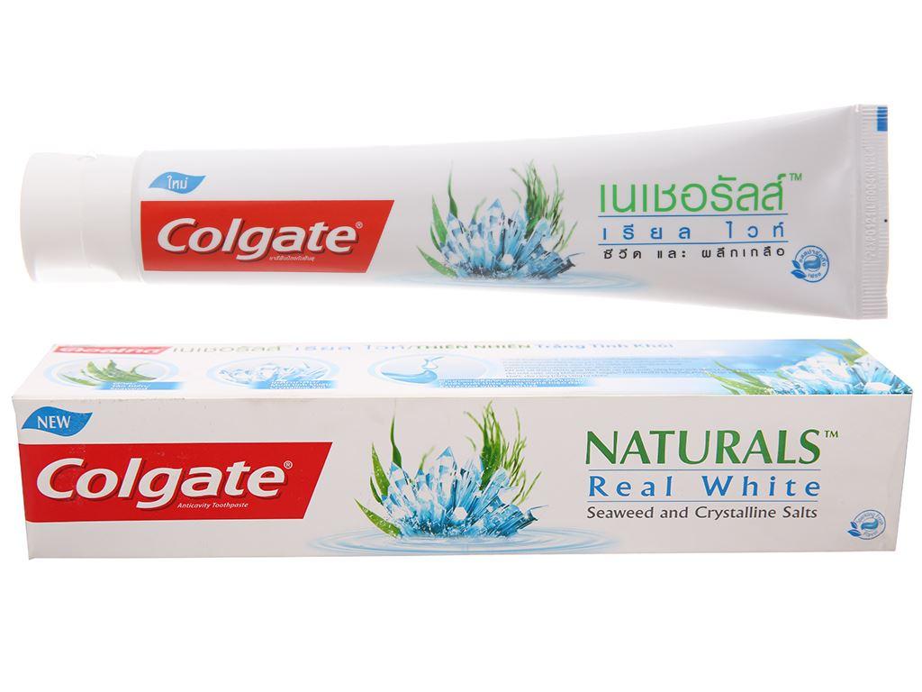 Kem đánh răng Colgate Naturals tảo biển và muối tinh thể 180g 2