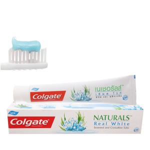 Kem đánh răng Colgate Naturals tảo biển và muối tinh thể làm trắng răng 180g