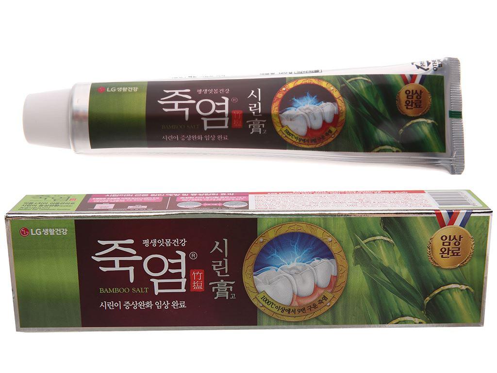Kem đánh răng Bamboo Salt chăm sóc răng ê buốt 120g 2