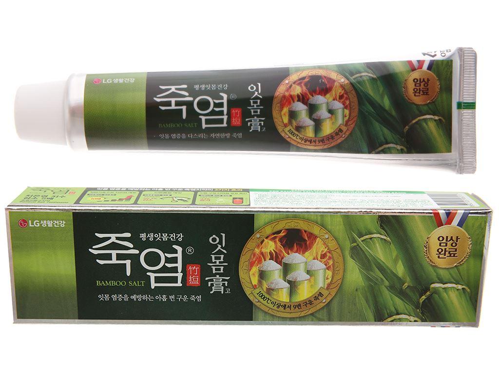Kem đánh răng Bamboo Salt chăm sóc nướu 120g 2