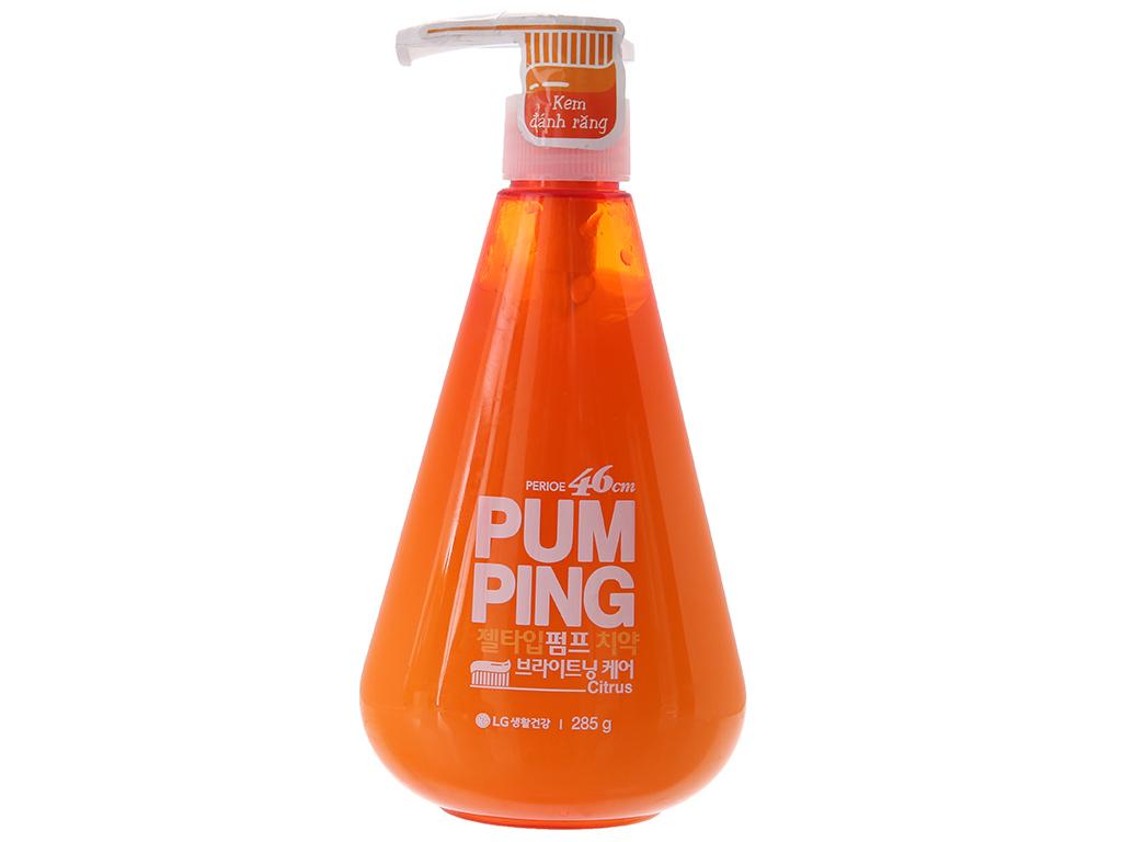 Kem đánh răng Perioe Pumping Citrus hương cam 285g 2