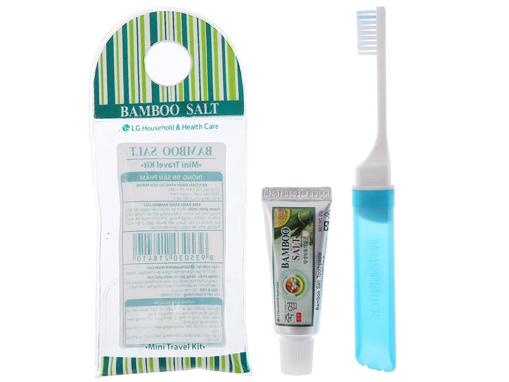 Combo chăm sóc răng miệng Bamboo Salt bộ 2 4