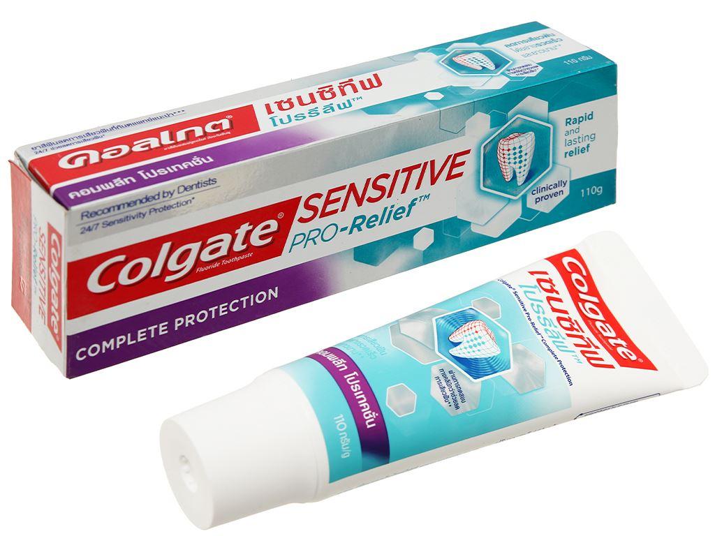 Kem đánh răng Colgate Sensitive Pro Relief Complete Protection 110g 1