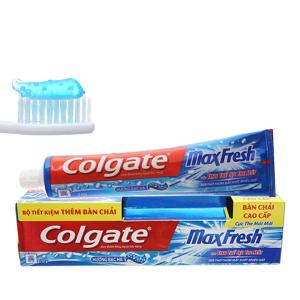 Kem đánh răng Colgate MaxFresh bạc hà cực the mát 230g