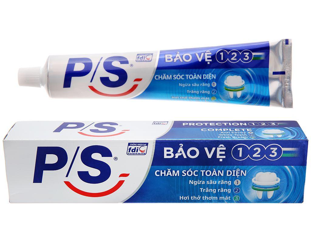 Kem đánh răng P/S bảo vệ 123 chăm sóc toàn diện 190g 2