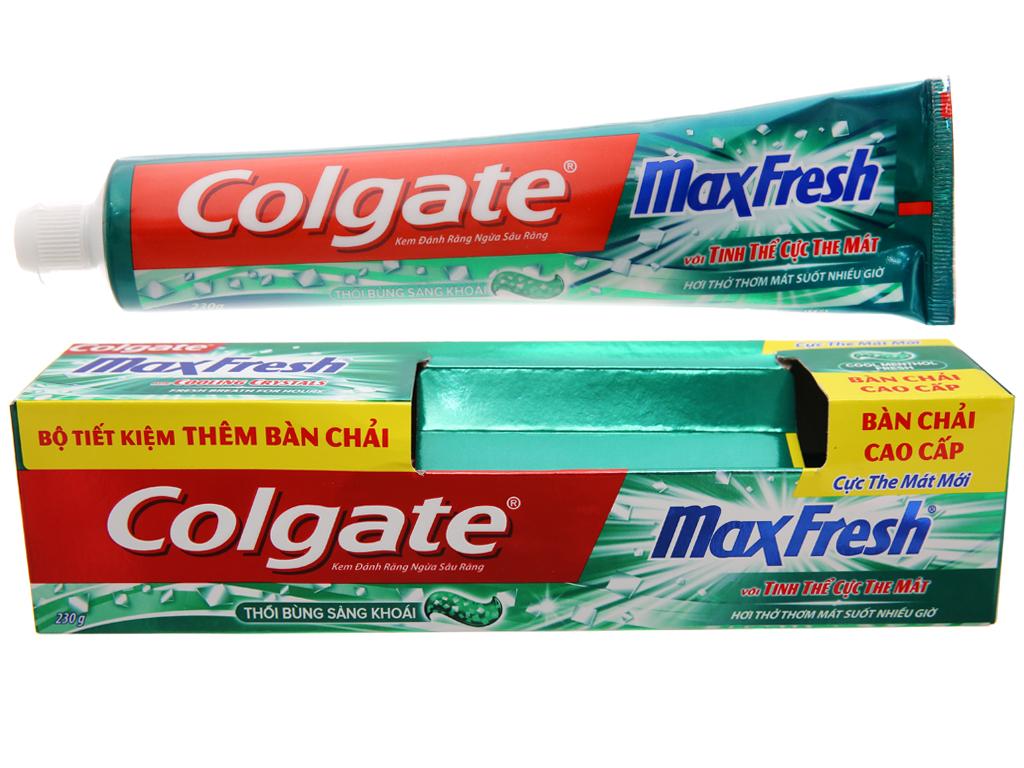 Kem đánh răng Colgate MaxFresh cực the mát 230g 1
