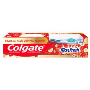Kem đánh răng Colgate MaxFresh tinh dầu bạc hà 230g