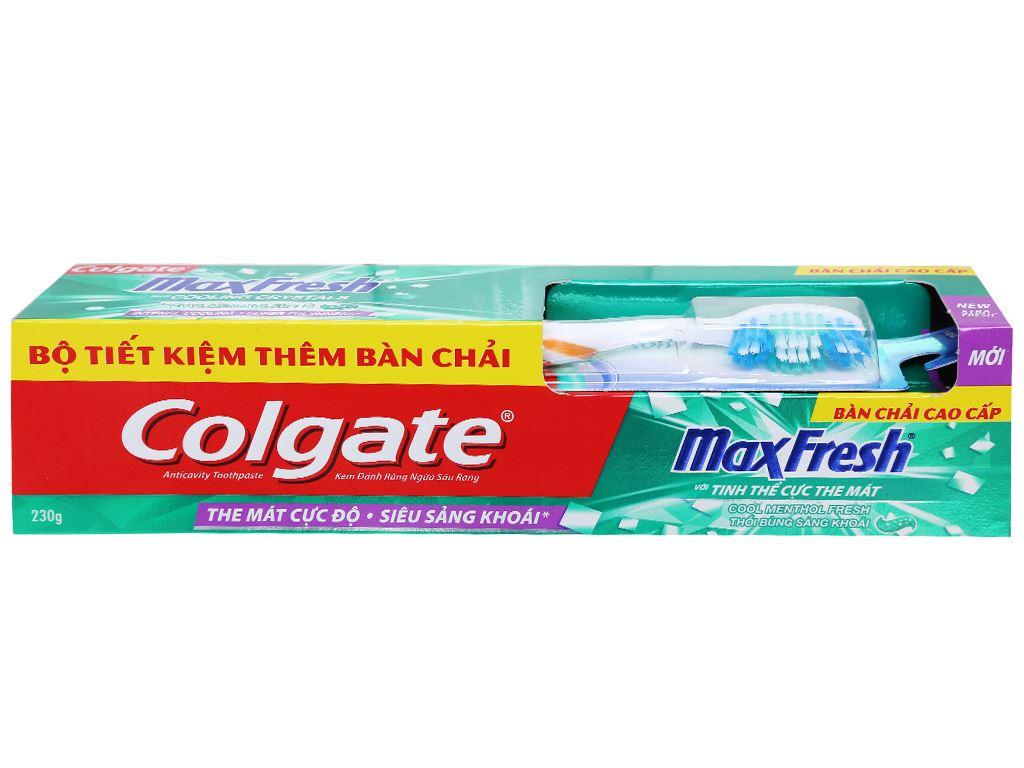 Kem đánh răng Colgate MaxFresh tinh thể cực the mát 230g 3