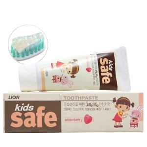 Kem đánh răng cho bé Kids Safe ngừa sâu răng dâu 90g