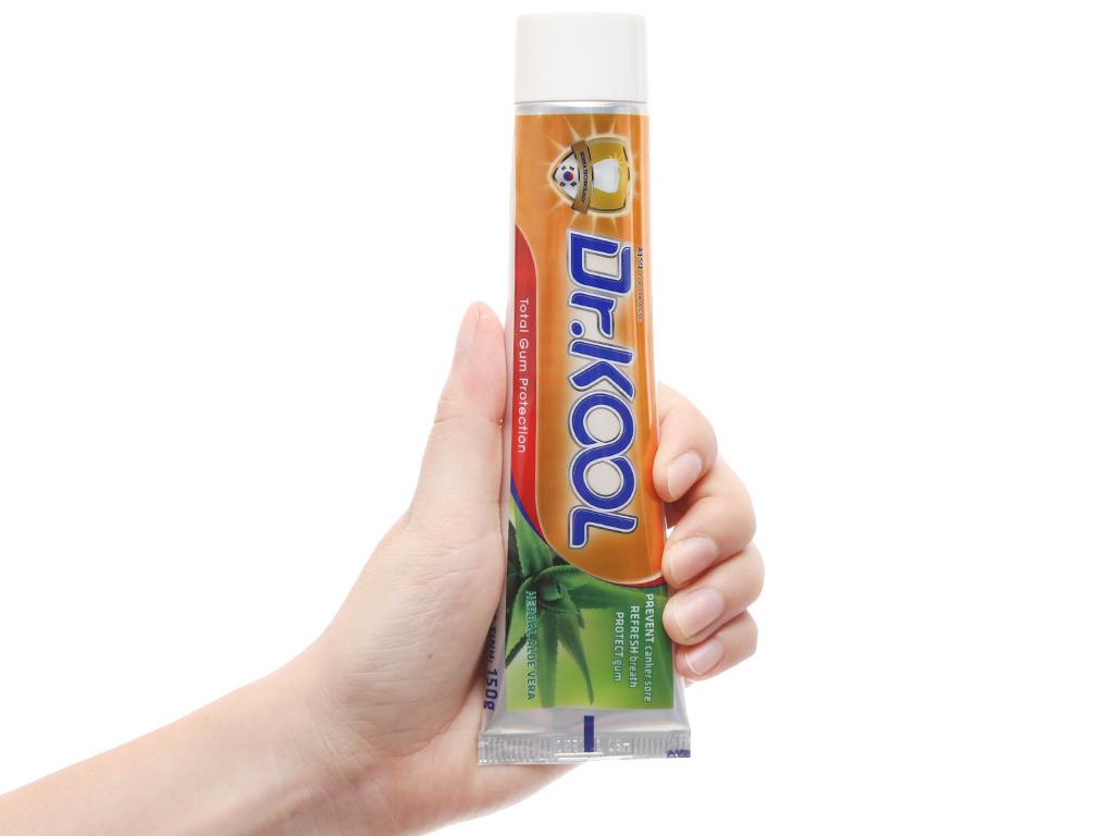 Kem đánh răng Dr. Kool thảo dược nha đam bảo vệ nướu toàn diện 150g 5