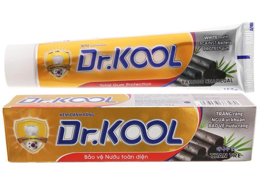 Kem đánh răng Dr. Kool than tre bảo vệ nướu toàn diện 150g 2