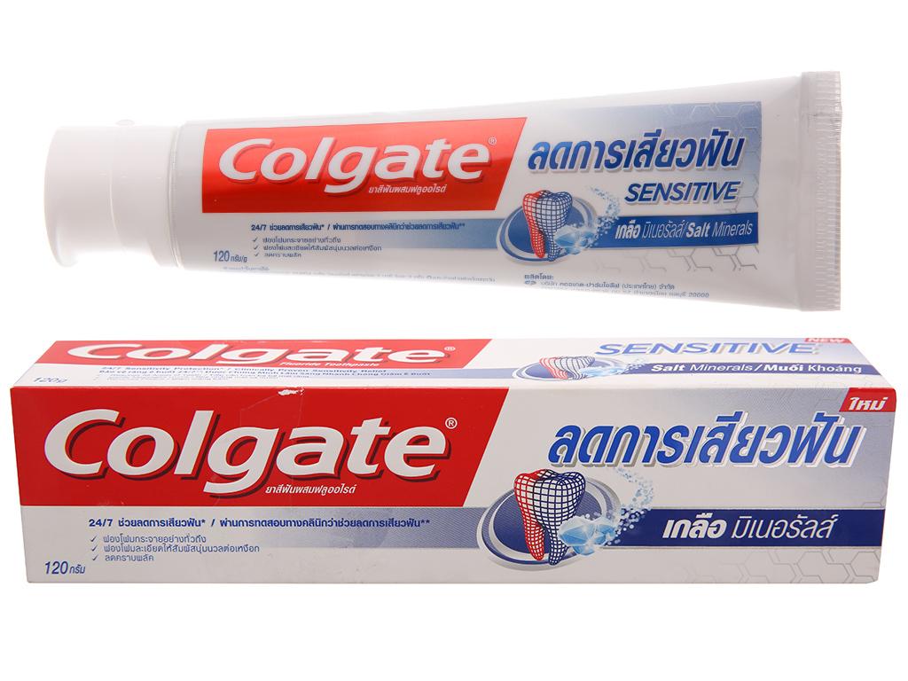 Kem đánh răng Colgate Sensitive muối khoáng 120g 2