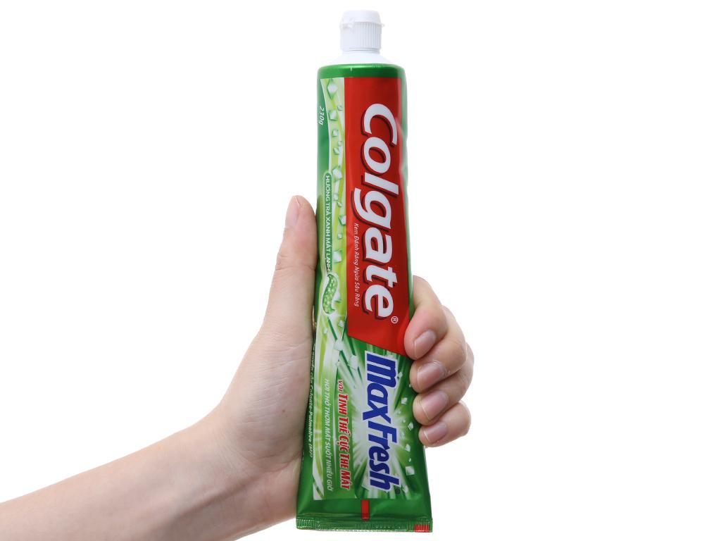 Kem đánh răng Colgate MaxFresh hương trà xanh 230g 5