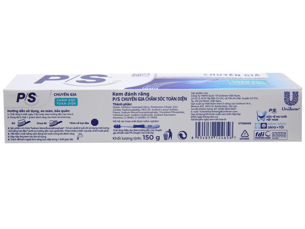 Kem đánh răng P/S 150g 2