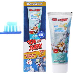 Kem đánh răng cho bé trên 3 tuổi Oral-Clean Mild Mint 75ml