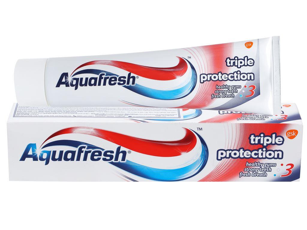 Kem đánh răng Aquafresh bảo vệ nướu chắc răng thơm miệng 100ml 2