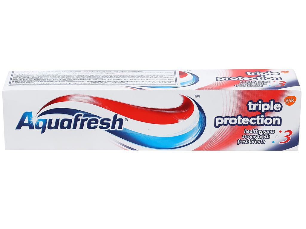 Kem đánh răng Aquafresh bảo vệ nướu chắc răng thơm miệng 100ml 3