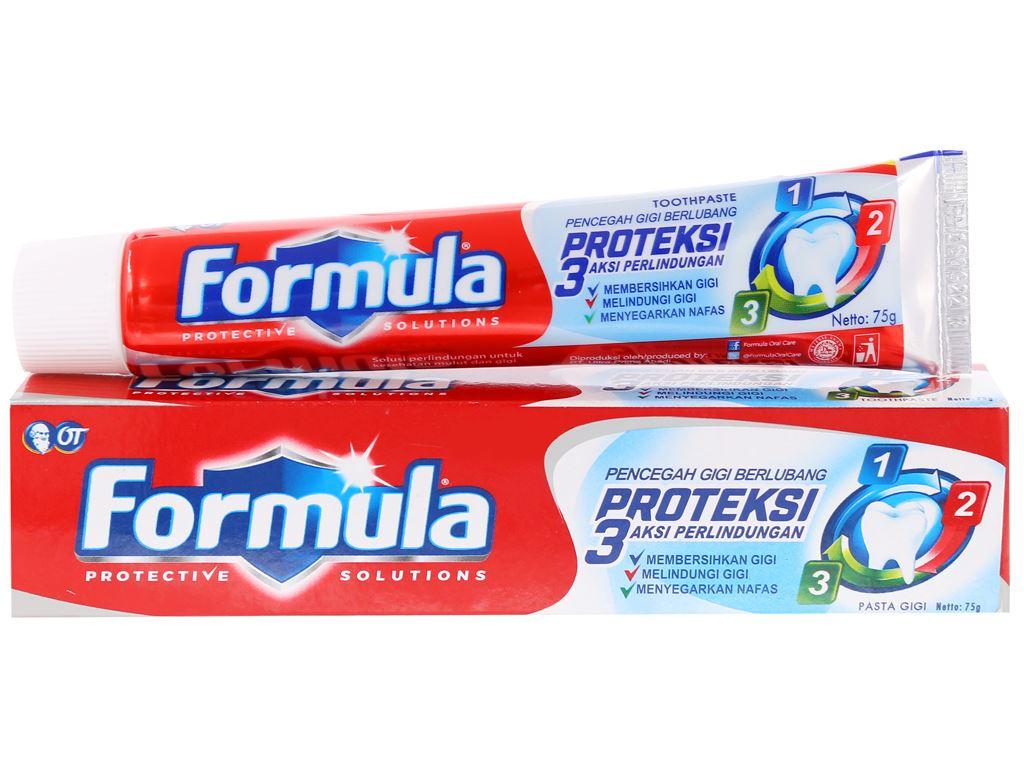 Kem đánh răng Formula Proteksi ngừa sâu răng 75g 1