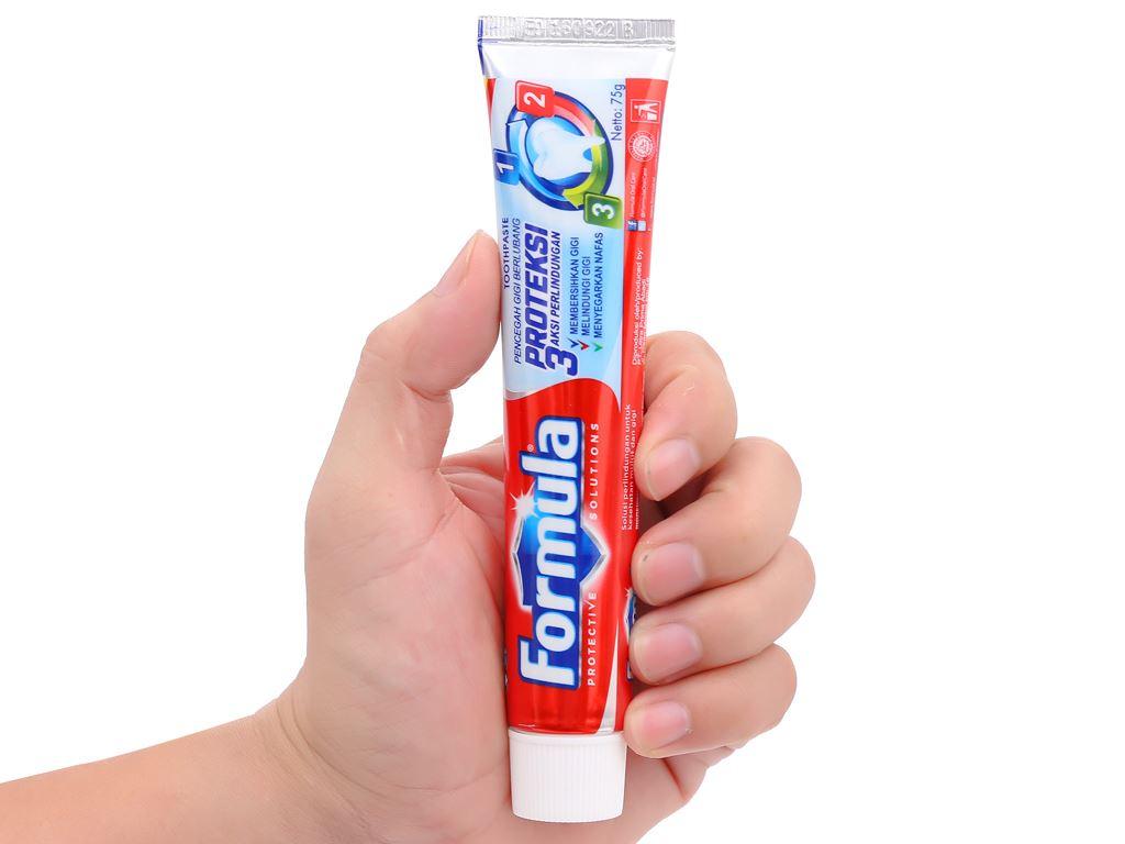 Kem đánh răng Formula Proteksi ngừa sâu răng 75g 5