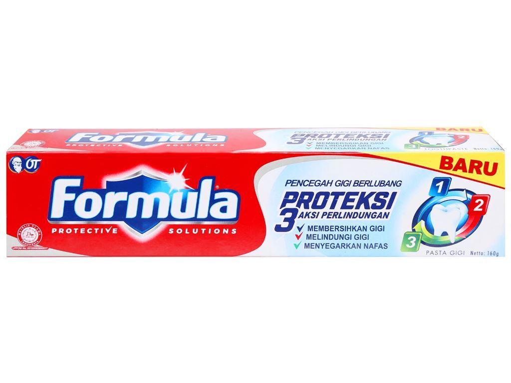 Kem đánh răng Formula Proteksi ngừa sâu răng 160g 2
