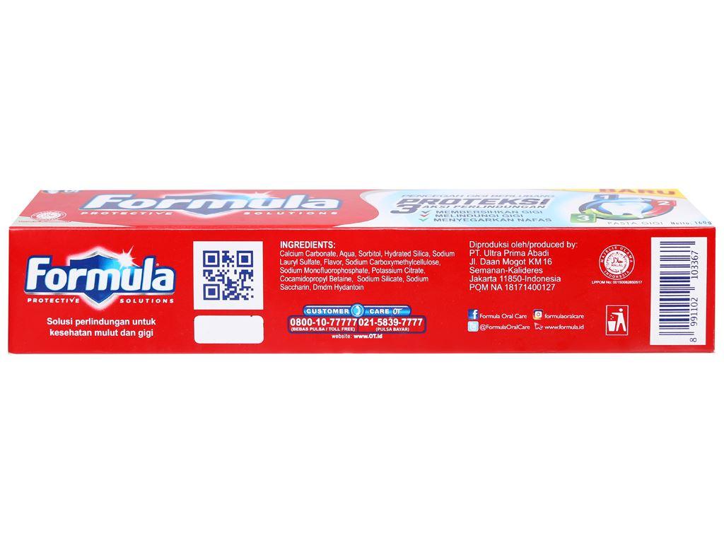 Kem đánh răng Formula Proteksi ngừa sâu răng 160g 3