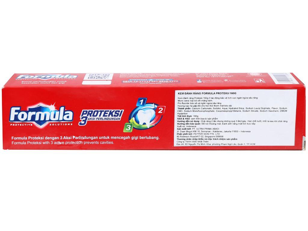 Kem đánh răng Formula Proteksi ngừa sâu răng 160g 4