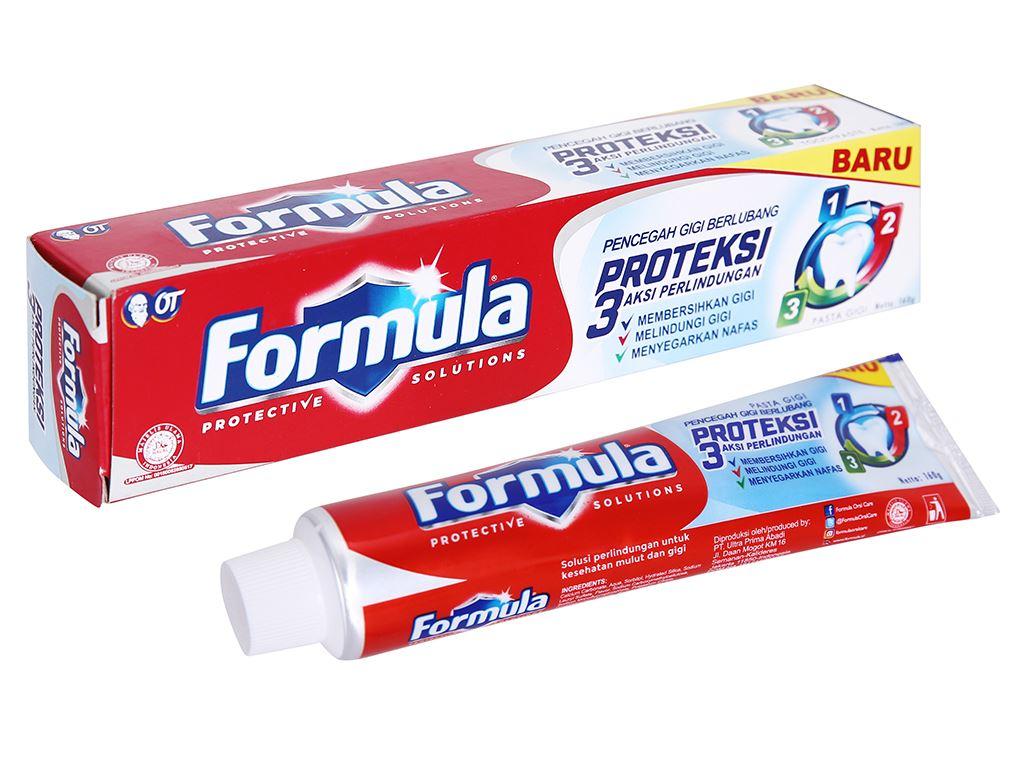 Kem đánh răng Formula Proteksi ngừa sâu răng 160g 1
