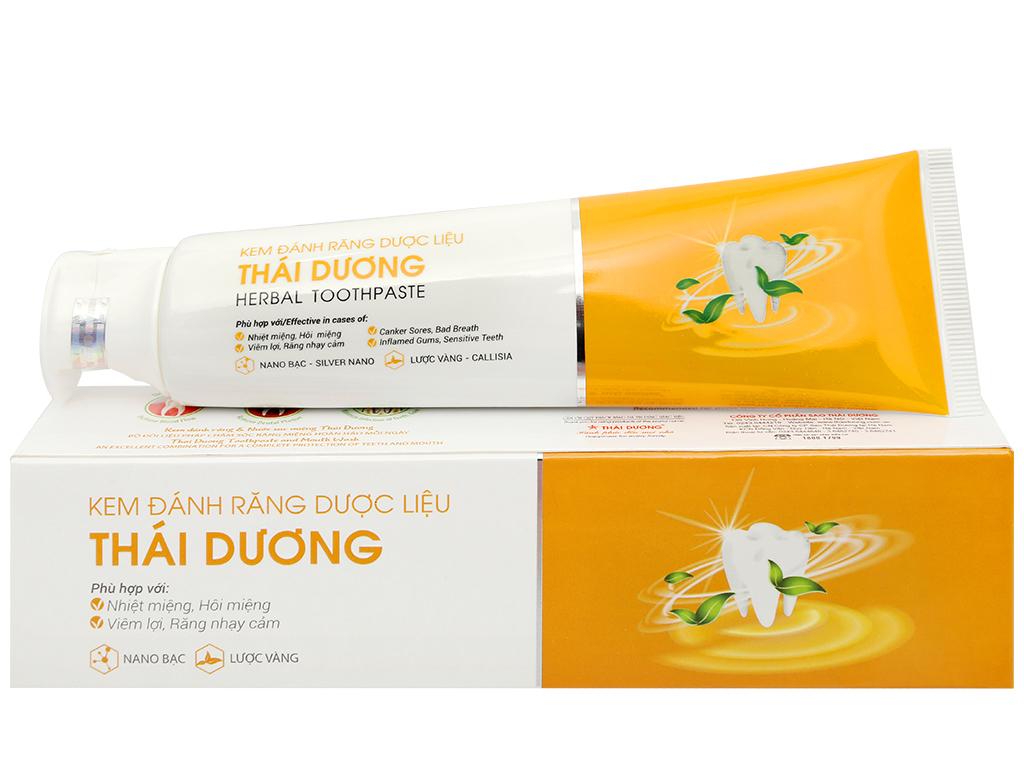 Kem đánh răng dược liệu Thái Dương 100g 1