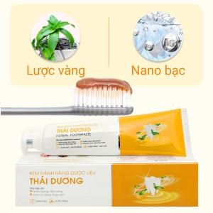 Kem đánh răng dược liệu Thái Dương 100g