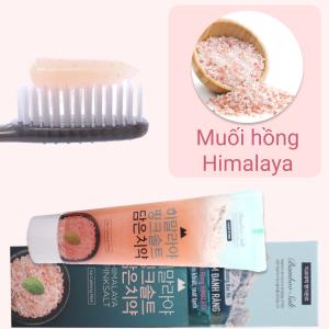 Kem đánh răng trắng răng Bamboo Salt muối hồng Himalaya và bột ngọc trai 100g