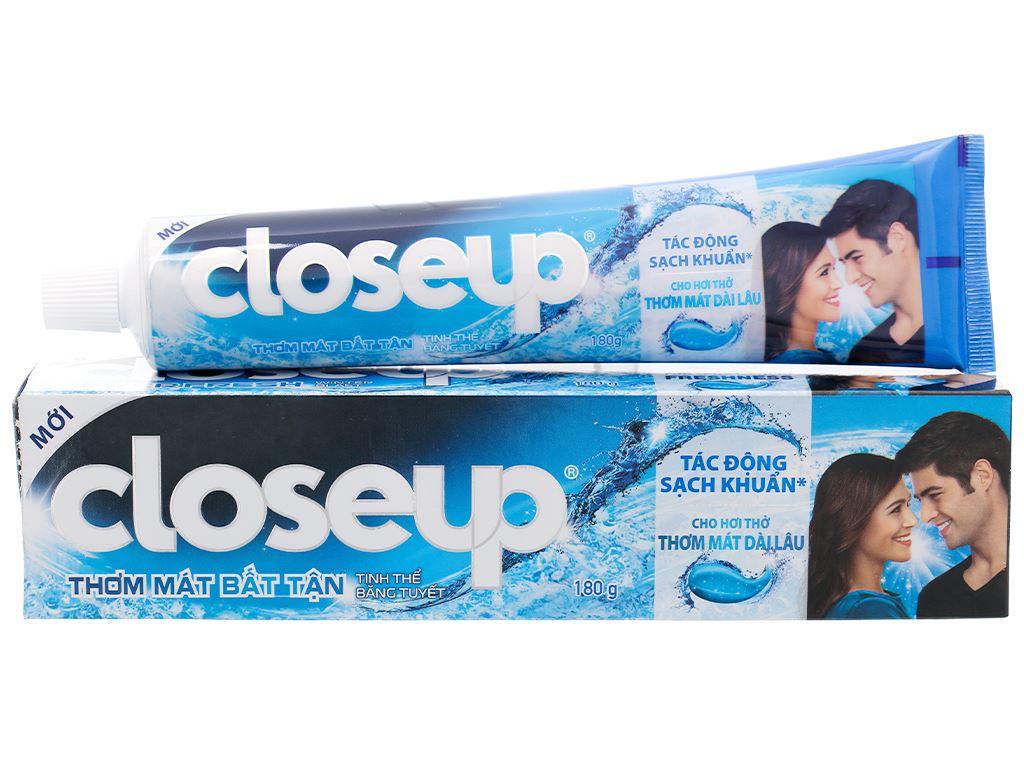 Kem đánh răng Closeup tinh thể băng tuyết 180g 1