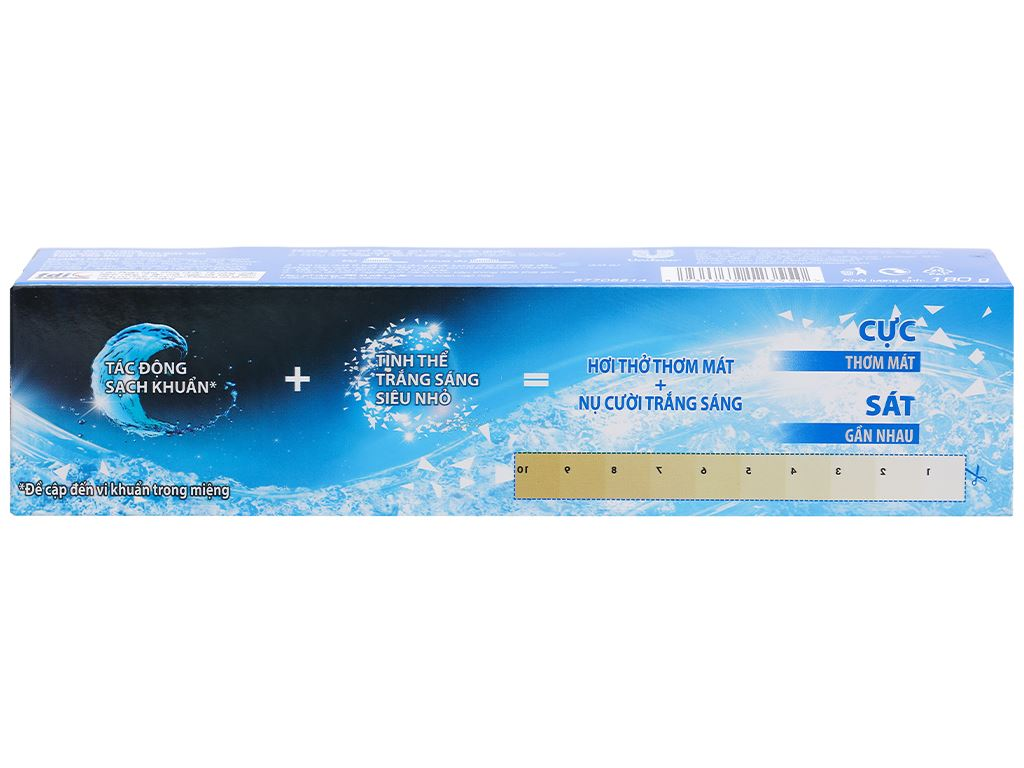 Kem đánh răng Closeup tinh thể băng tuyết 180g 4