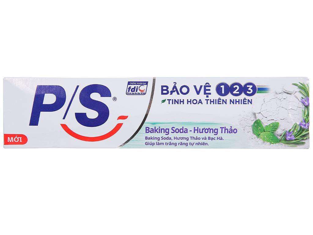 Kem đánh răng P/S bảo vệ 123 baking soda & hương thảo 180g 2