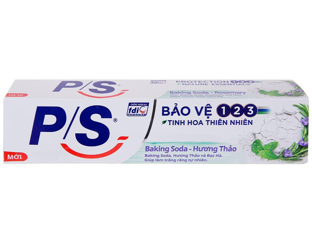 Kem đánh răng P/S bảo vệ 123 baking soda & hương thảo 180g 3